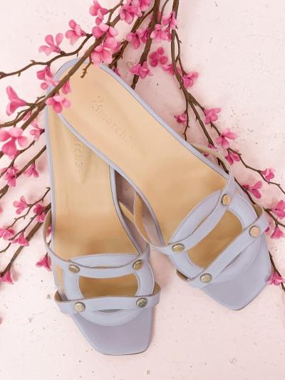 Luiza slippers BLAUW