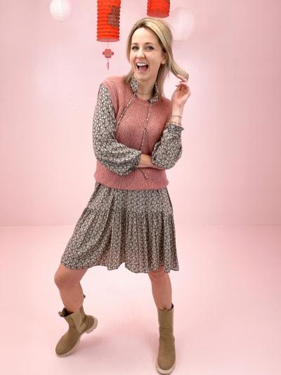 Caterina knit  lilas