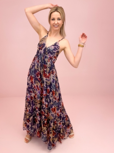 Shirel dress paars