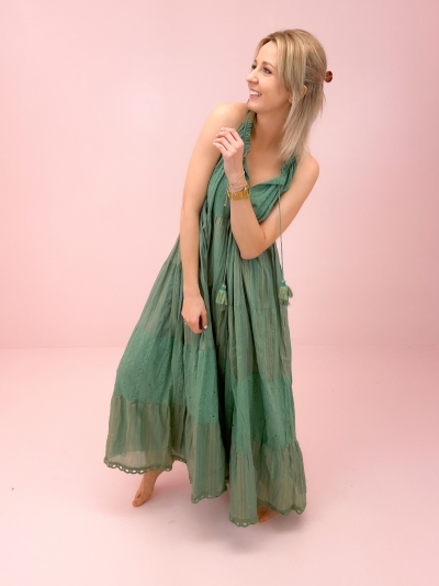 Ibiza dress groen