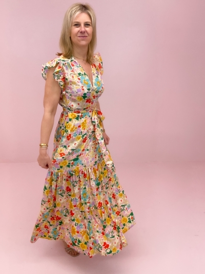 Lauren dress Multi flower