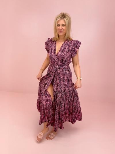 Lauren dress azetec purple