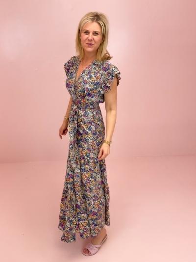 Lauren dress White/blue