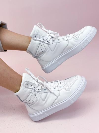 Vana high sneaker white