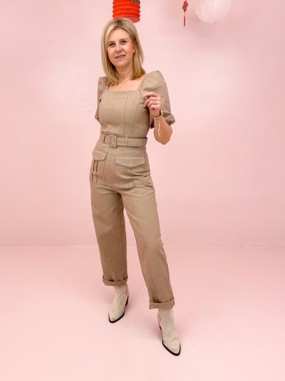 Bellio jumpsuit pure cashmere
