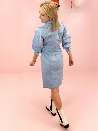 Dacy dress light blue vint