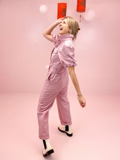 Diletto jumpsuit fragrant lilac