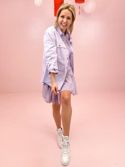 Demi Shirt Purple purple