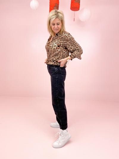 Jaguar blouse animal