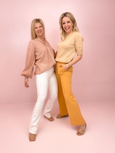 Celina blouse amber
