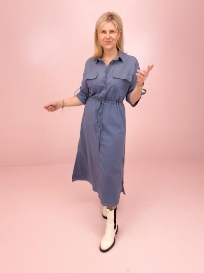Todis dress china blue