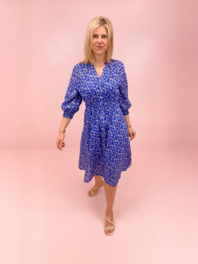 Daylye dress Deep ultramarin