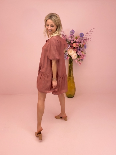 Fenello dress Redwood