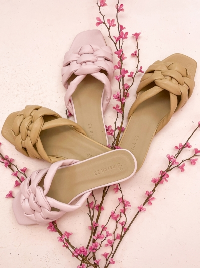 Claire slippers lila
