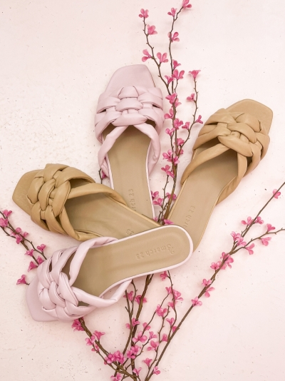 Claire slippers beige