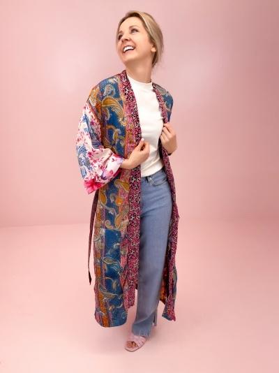 Kimono patchwork 3 logo