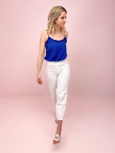 Tsuru pants off white