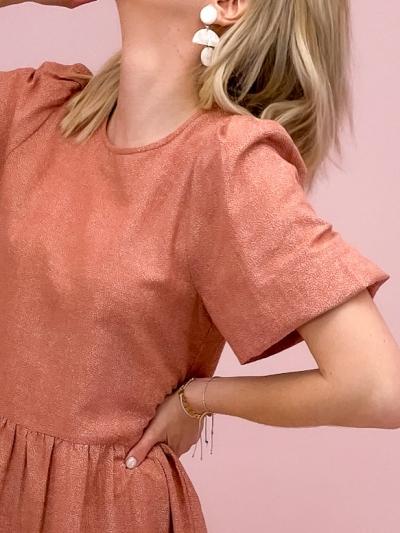 Reya Dress cedar Print