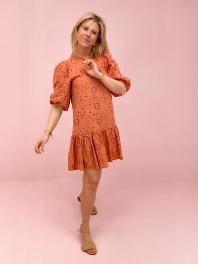 CLAUDIA jurk Marsala