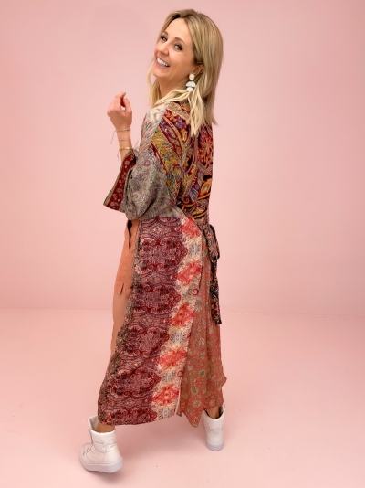Kimono patchwork 12 multi patch