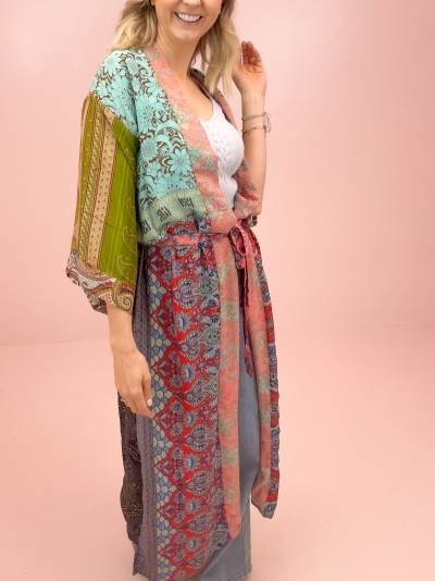 Kimono patchwork 15 multi patch