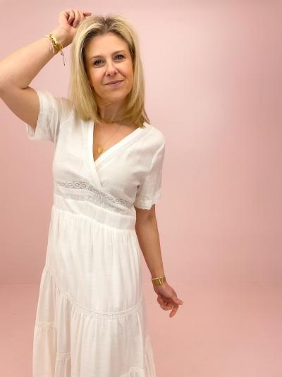 Tally dress white