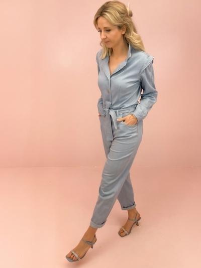 Fiona jumpsuit Vintage blue