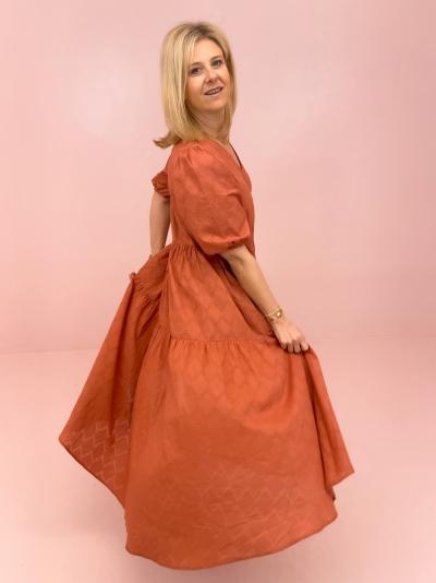 MInerva dress Cedar wood