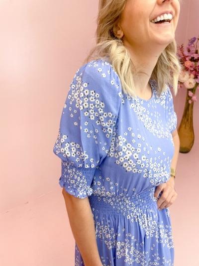 Kiyan dress Sereia blue