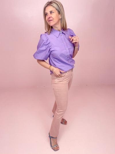 Yates Puff shirt purple