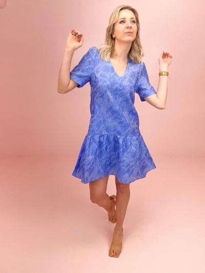 Eriona dress blue herron