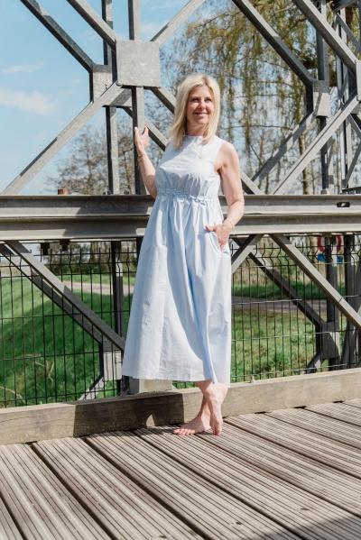 Sori dress xenon blue