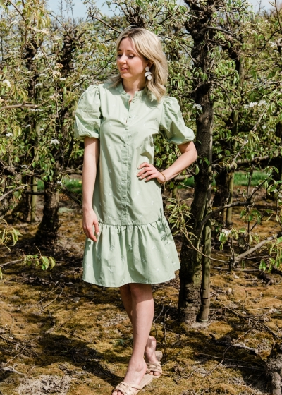 Nona shirt dress reseda