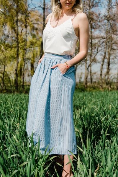Makita Beach Skirt powder blue