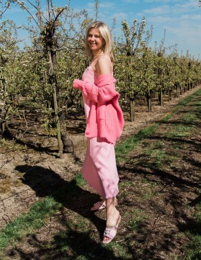 Avery dress Pink