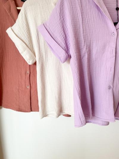Lena blouse lilac
