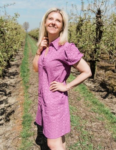 Yael dress lilac
