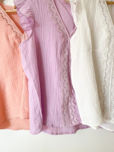 Wilby blouse rose
