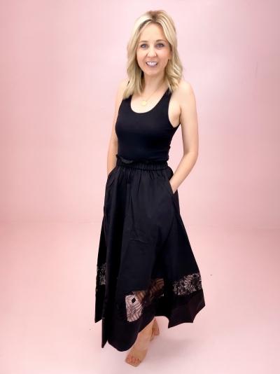 Sahel skirt Black