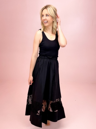 Sarai top black