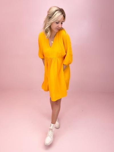 Asmoro Dortea dress Radiant yellow