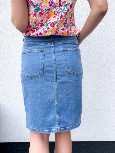 Calissa Rikka skirt vintage blue