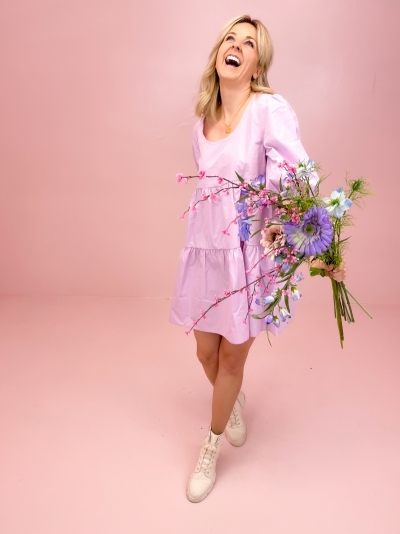 Suze dress lilac
