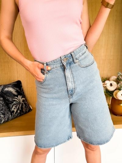 Elma wide shorts logo