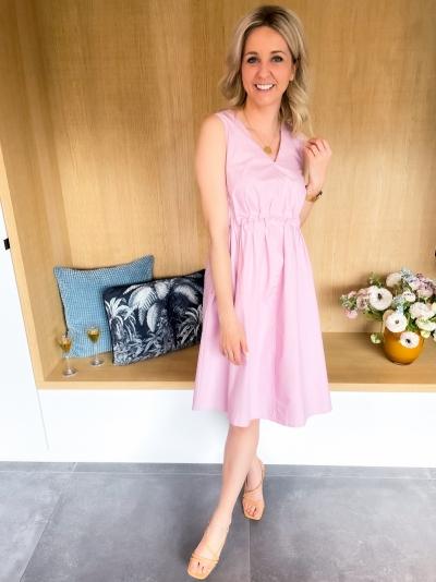 Sori short dress fragrant lilac