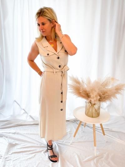 Shawna Joanie  natural linen