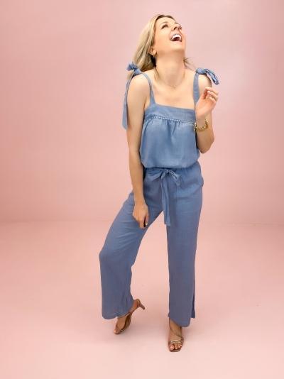 Madeire pants blue