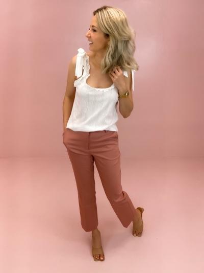 Kick Flared pants pink
