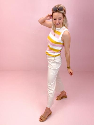 Trystan stripe knit trystan stripe