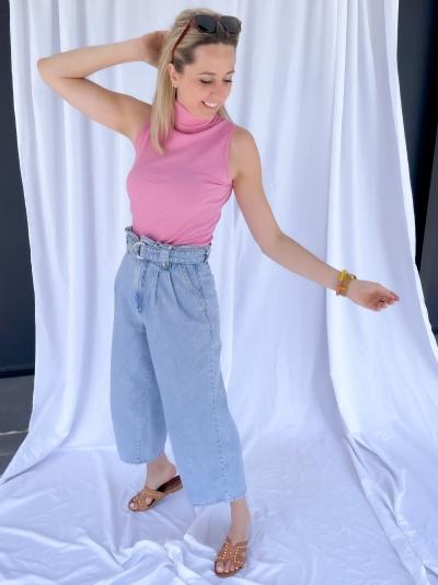 Aleah Culotte light blue